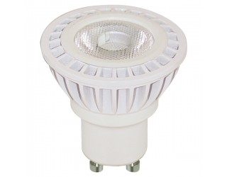 Satco S9009 - 5MR16/LED/36'/5000K/120V/GU10/DIM - Dimmable LED - 5 Watt - 120 Volt - MR16 - Twist and Lock (GU10) - 5,000 Kelvin (Natural Light)