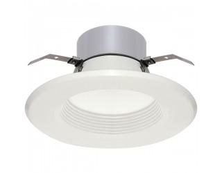Satco S9126 - LED Recessed Retrofit Downlight - 13 Watt - 120 Volt - Medium (E26) - Frosted White - 3,000 Kelvin