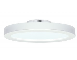 "Satco S9240 - Blink LED Retrofit Fixture - 18W/LED/9.5""FLUSH/WH/30K - 18 Watt - 120 Volt - Direct Wired - 3,000 Kelvin (Frosted White)"