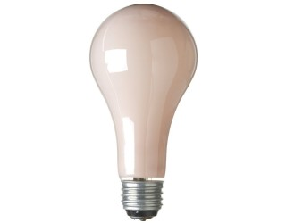 Sylvania 18726 - 50/150A21/SPK/RP - 50/100/150 Watt - 120 Volt - Incandescent - A21 - Medium (E26) - 3-Way - Soft Pink