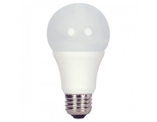 Satco S9245 - 11A19/LED/2700K/800L/120V/D - LED - Medium (E26) - A19 - 11 Watt - 120 Volt - Frosted - 2,700 Kelvin (Warm White)
