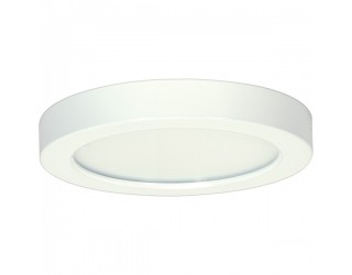Satco S9331 - Blink LED Retrofit Fixture - 13.5W/LED/7/FLUSH/30K/RD/WH - 13.5 Watt - 120 Volt - Connector - White Finish - 3,000 Kelvin (Warm White)