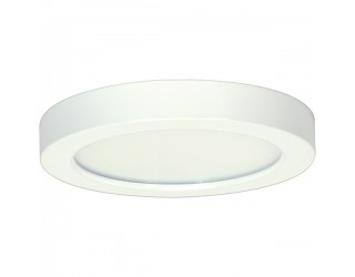 Satco S9360 - Blink LED Retrofit Fixture - 13.5W/LED/7/FLUSH/50K/RD/WH - 13.5 Watt - 120 Volt - Connector - White Finish - 5,000 Kelvin (Natural Light)