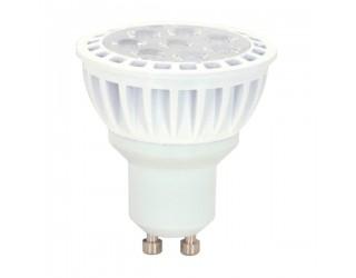 Satco S9096 - 7MR16/LED/40'/3K/120V/GU10 - LED - 7 Watt - 120 Volt - LED - MR16 - Twist and Lock (GU10) - 3,000 Kelvin (Warm White)