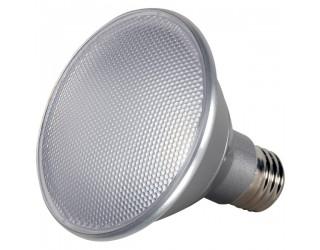 Satco S9417 - 13W PAR30 Short Neck - 40 Degree Beam Spread - 3500K - 120V - Dimmable - 13PAR30/SN/LED/40'/3500K/120V/D