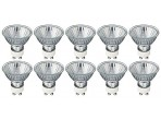 (10 Pack) KOR K20153 - 35MR16/120V/FL/GU10 - Halogen - 35 Watt - 120 Volt - Flood 36° - MR16 - Twist And Lock (GU10) - 2,850 Kelvin