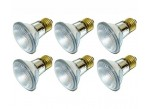 (6 Pack) KOR K25360 - 39PAR20/FL/120V - Halogen - PAR20 - 39 Watt (50 Watt Replacement) - 120 Volt - Medium (E26) - 2,850 Kelvin