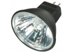Satco S4173 - 20MR11/FTD/B/C - 20 Watt - 12 Volt - Halogen - MR11 - Sub-Miniature Bi-Pin (GZ4) - Black