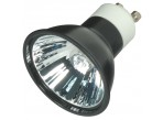 Satco S4184 - 50MR16/EXN/B/GU10 - 50 Watt - 120 Volt - Halogen - MR16 - Twist and Lock (GU10) - Black