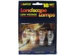 (4 Pack) Satco S4554 - 18T5 - 18 Watt - 12 Volt - Miniature - T8 - Mini Wedge (W2.1x9.5d) - Landscape Lighting